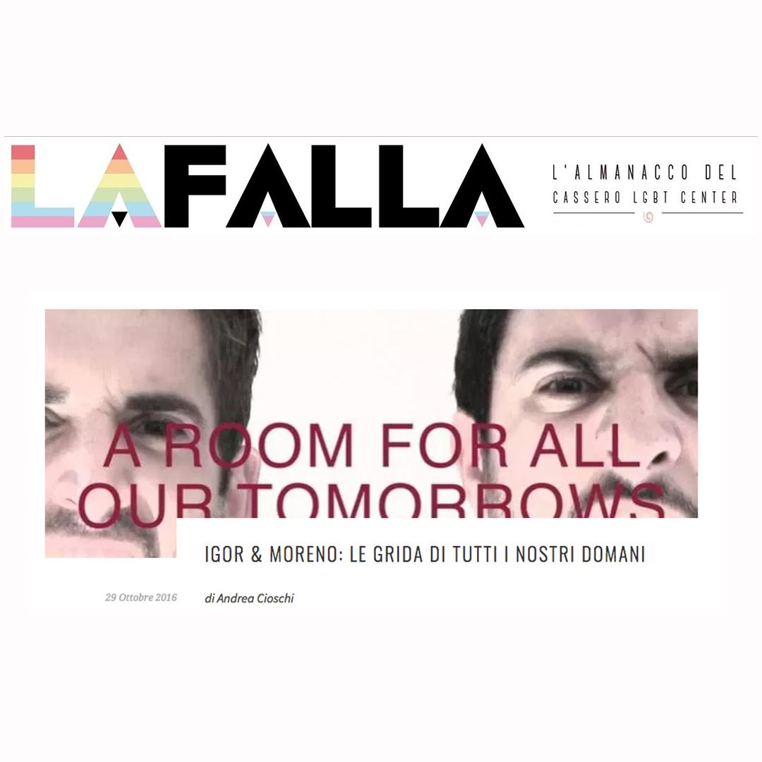 A Room for All Our Tomorrows / Igor and Moreno / TIR Danza