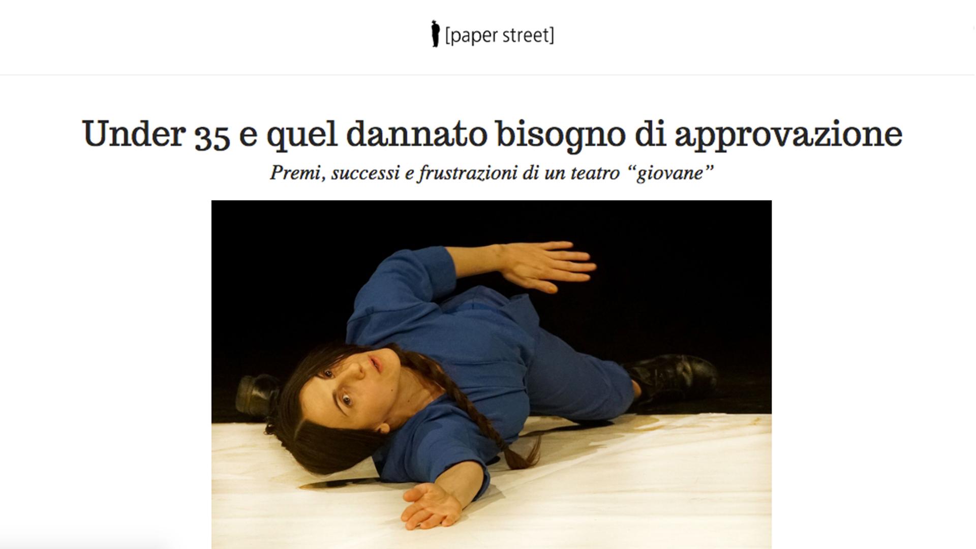 Bau#2 / Barbara Berti / Rassegna stampa - recensione / paper street