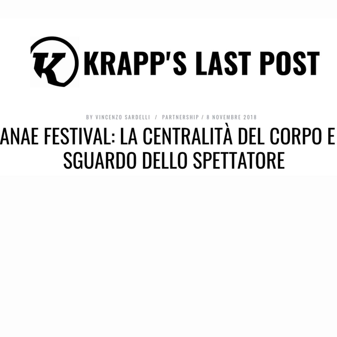 Bau#2 / Barbara Berti / Rassegna stampa - recensione / KLP teatro