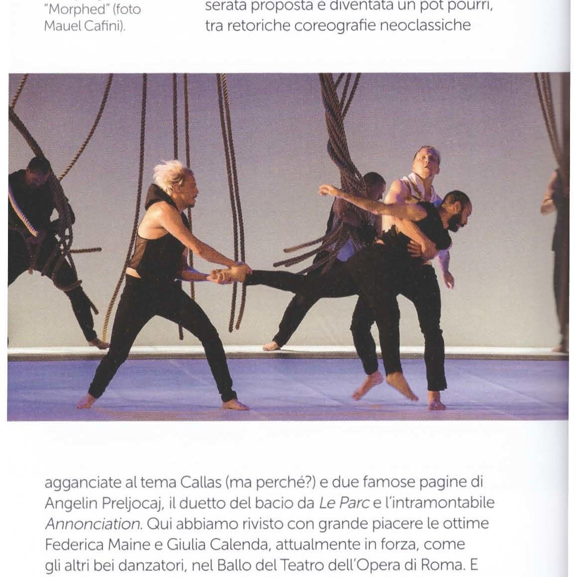 recensione di Silvia Poletti Danza e Danza 2017