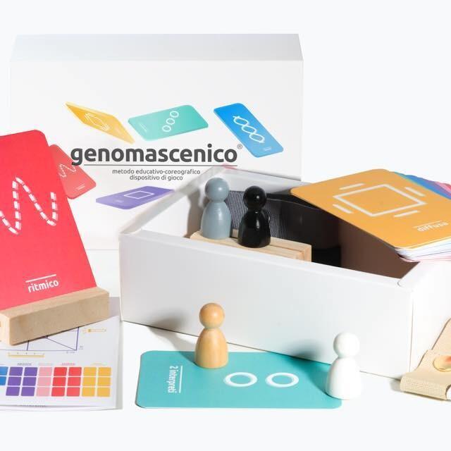 genomascenico® / dispositivo di gioco e metodo educativo-coreografico
