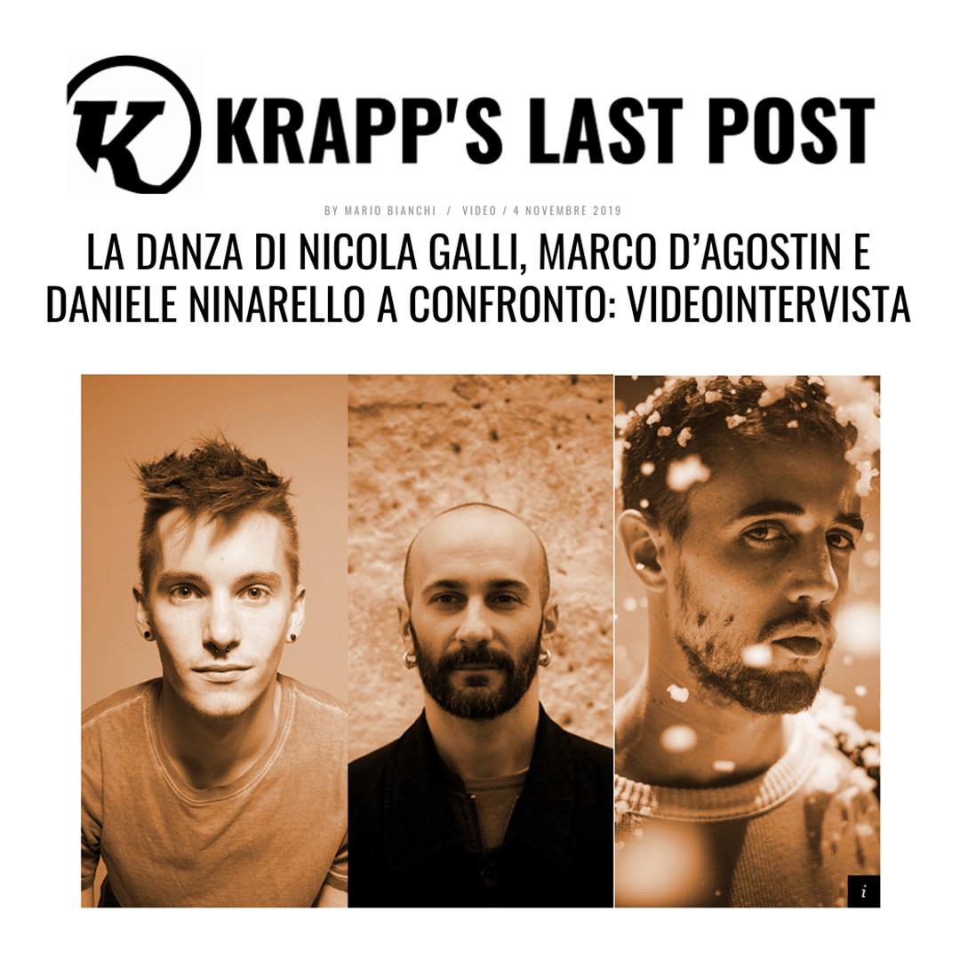 videointervista a Nicola Galli a cura di Mario Bianchi