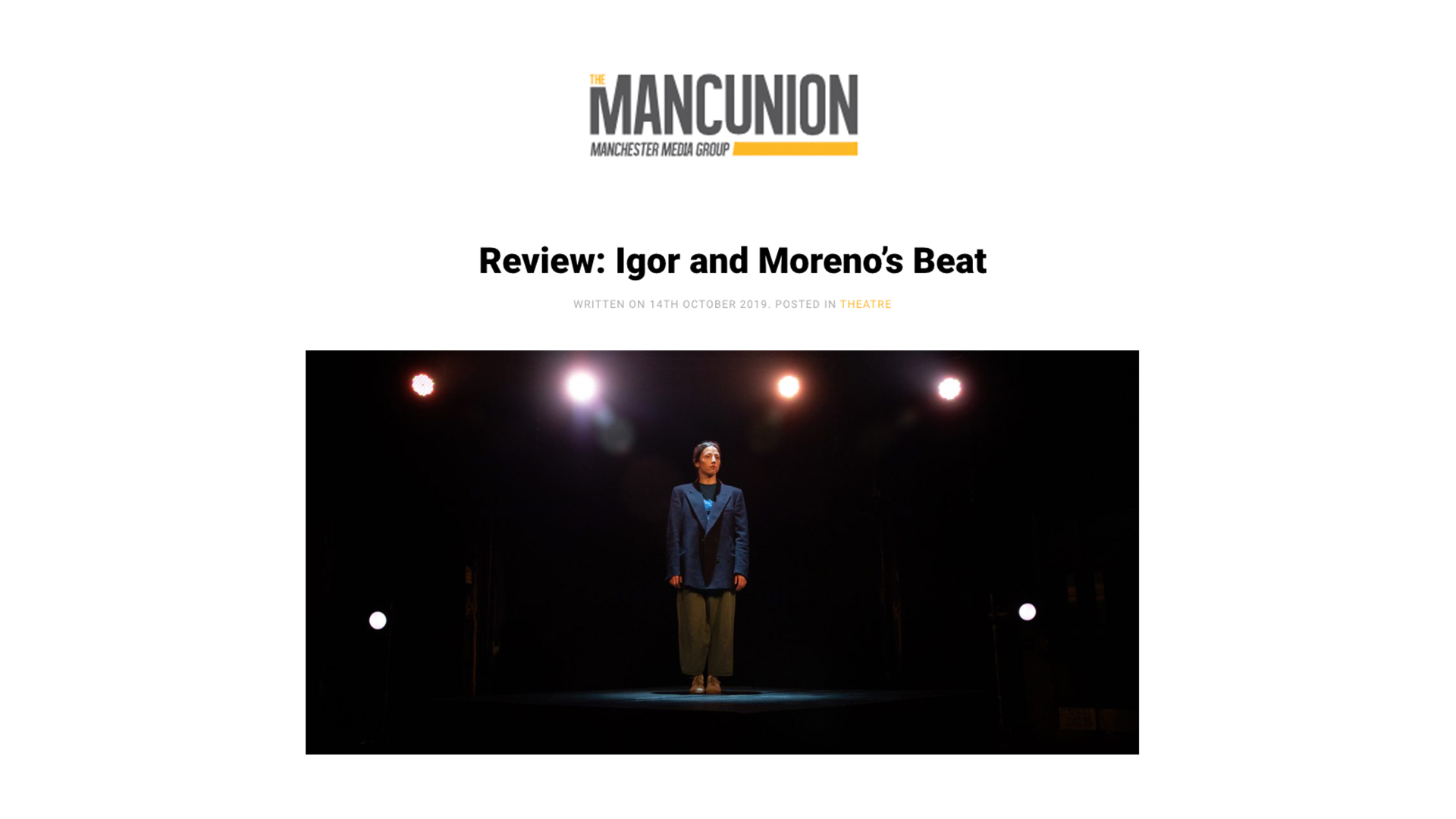 recensione BEAT di Igor x Moreno | The Mancunion