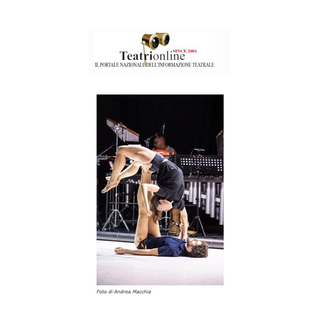 Recensione TOCCARE the White Dance | Cristina Kristal Rizzo